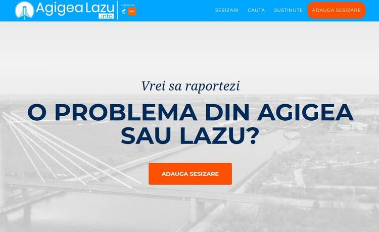 Aplicatia AgigeaLazu.info